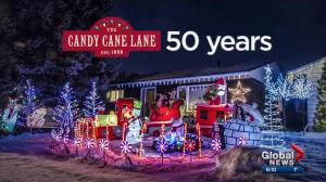 Candy Cane Lane: from 1968 to modern day